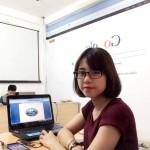 Bạn Hồng Nhung Sinh Viên Năm Cuối Trường Học Viện Ngân Hàng HN Tham Gia Khóa Học THVP Từ Cơ Bản Đến Nâng Cao