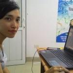 Chị Thu Vân Công Tác Tại Tập Đoàn Dầu Khí Việt Nam Tham Gia Khóa Học Excel Nâng Cao
