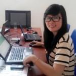 Chị Ngọc Anh tham gia khóa học tin học văn phòng dành cho người đi làm